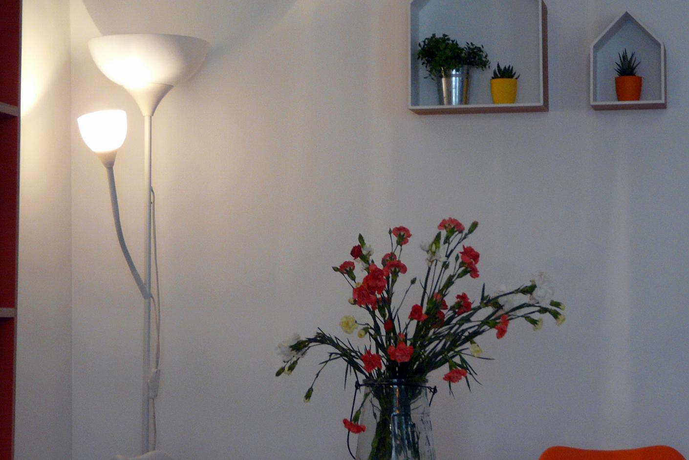 Création ambiance pièce de vie, à Lorient, style scandinave
