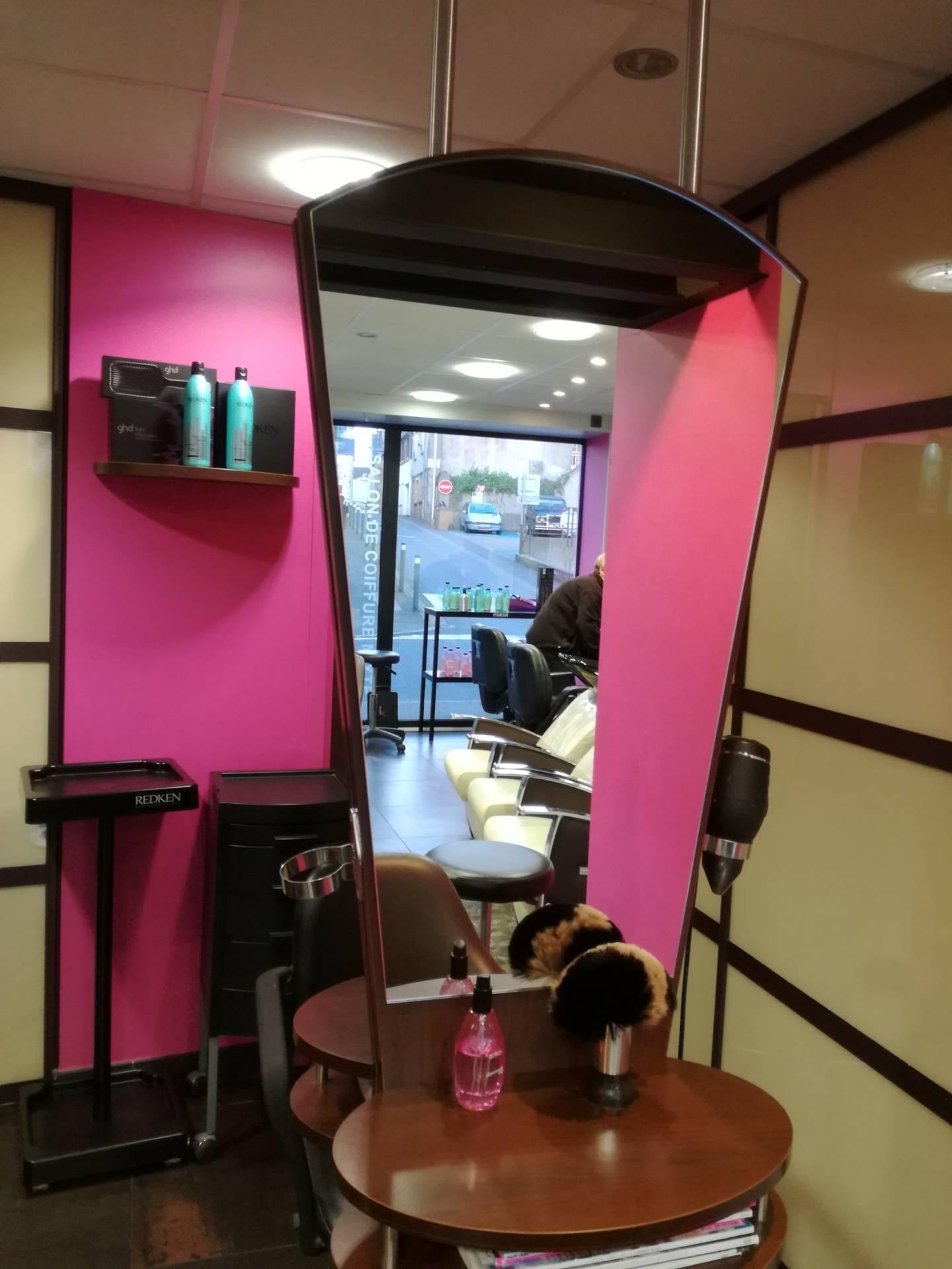 Avant BFB salon de coiffure