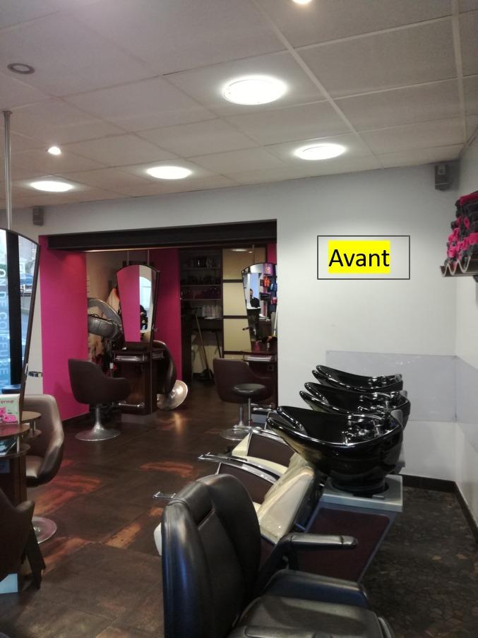 Rénovation et agencement salon de coiffure by Agence BFB Lorient et Ile de Ré