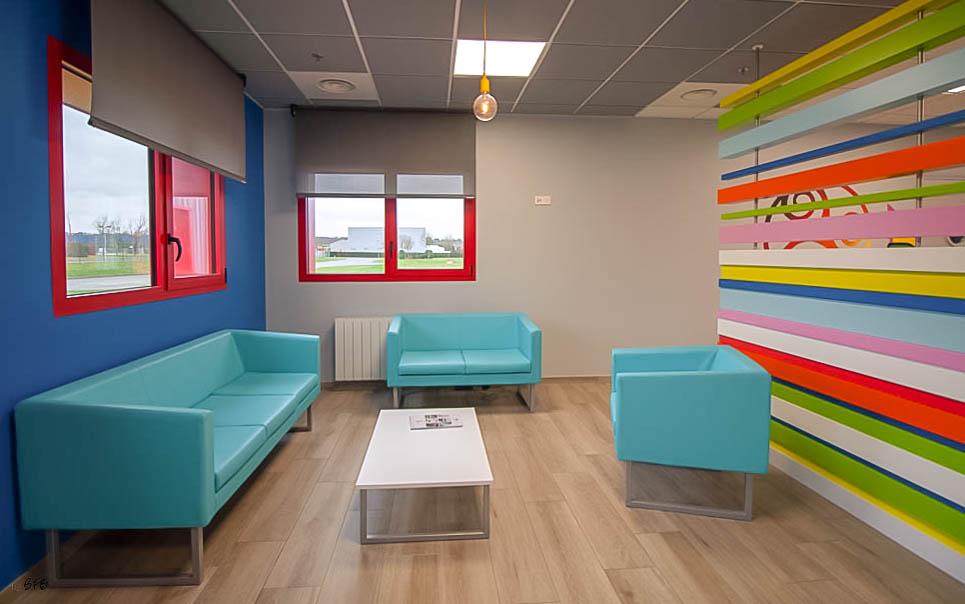 Aménagement et décoration Salle de Pause en agroalimentaire - Agence BFB Lorient, ïle de Ré - salle restauration Pontivy -