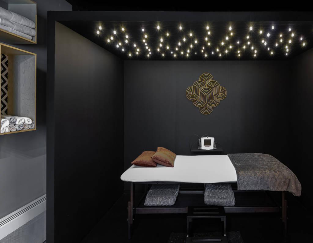 Ambiance et rénovation pour un institut de beauté à Lorient, Agence BFB Lorient et Ile de Ré, l'espace luxothérapie My Luxo, by BFB Lorient