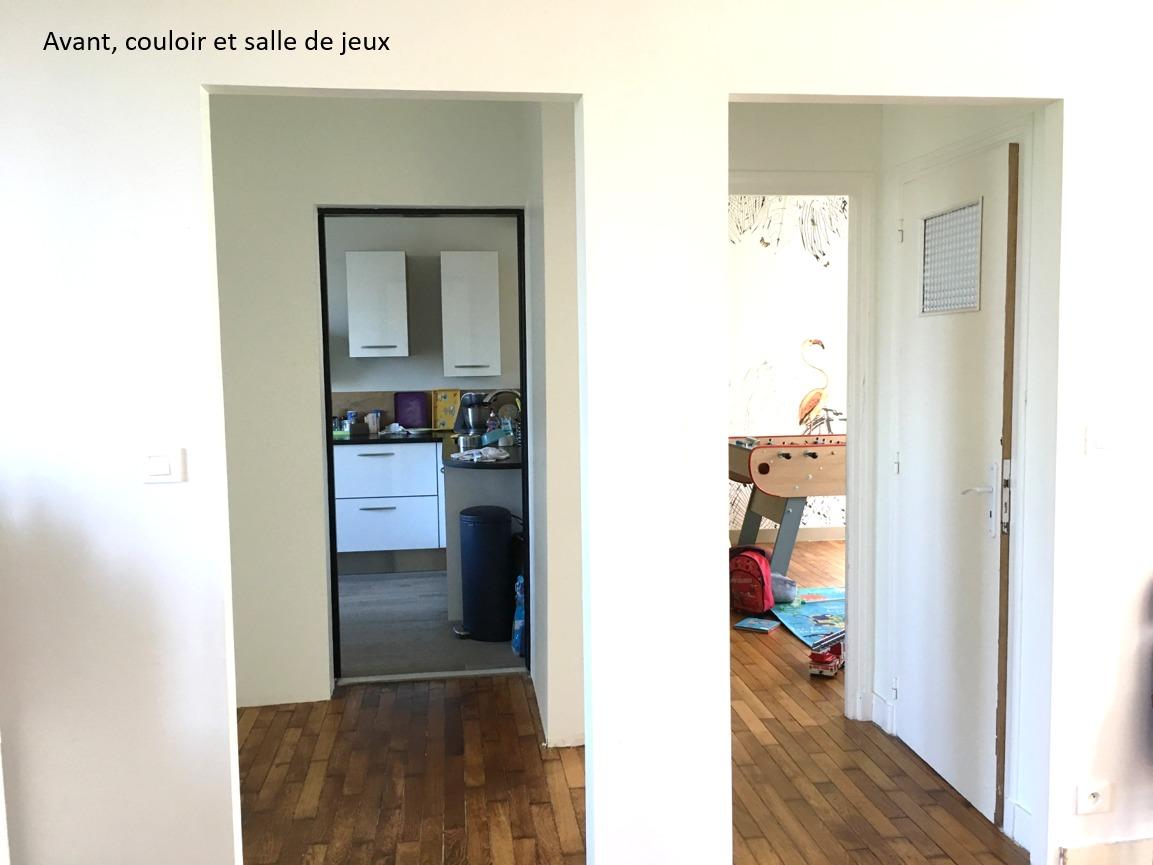 Création ambiance, rénovation, extension, maison à Brest, by Agence BFB Morbihan & Ile de Ré, avant la rénovation par l'agence, cuisine et salle de jeux