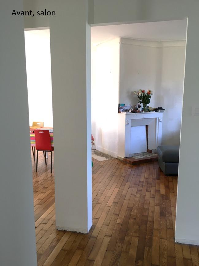 Création ambiance, rénovation, extension, maison à Brest, by Agence BFB Morbihan & Ile de Ré, avant la rénovation par l'agence, focus cheminée