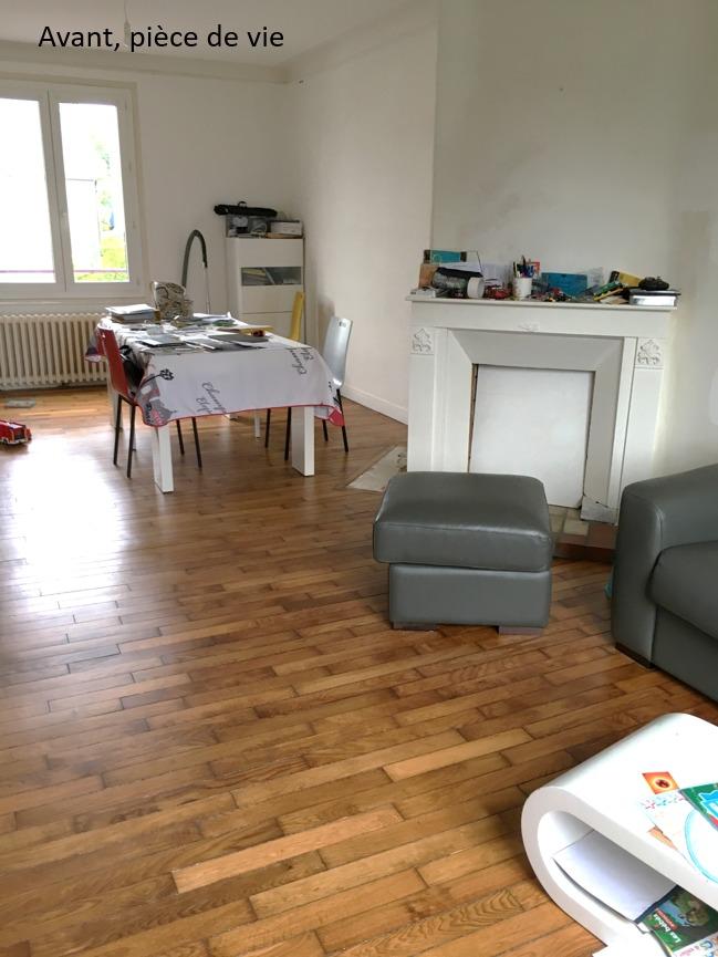 Création ambiance, rénovation, extension, maison à Brest, by Agence BFB Morbihan & Ile de Ré, avant la rénovation par l'agence, pièce de vie