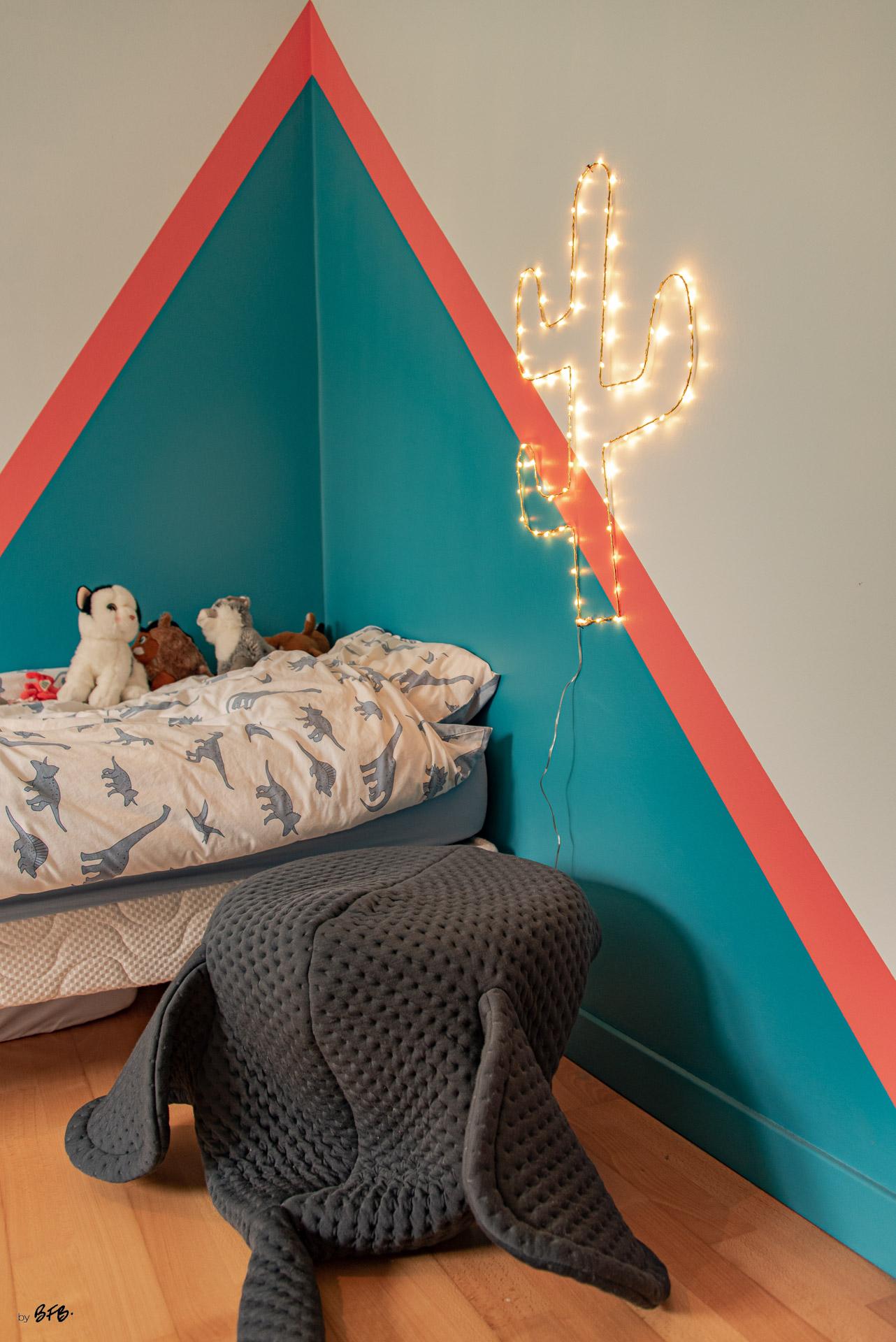 Création ambiance, rénovation, extension, maison à Brest, by Agence BFB Morbihan & Ile de Ré, chambre petit garçon dans un esprit indien