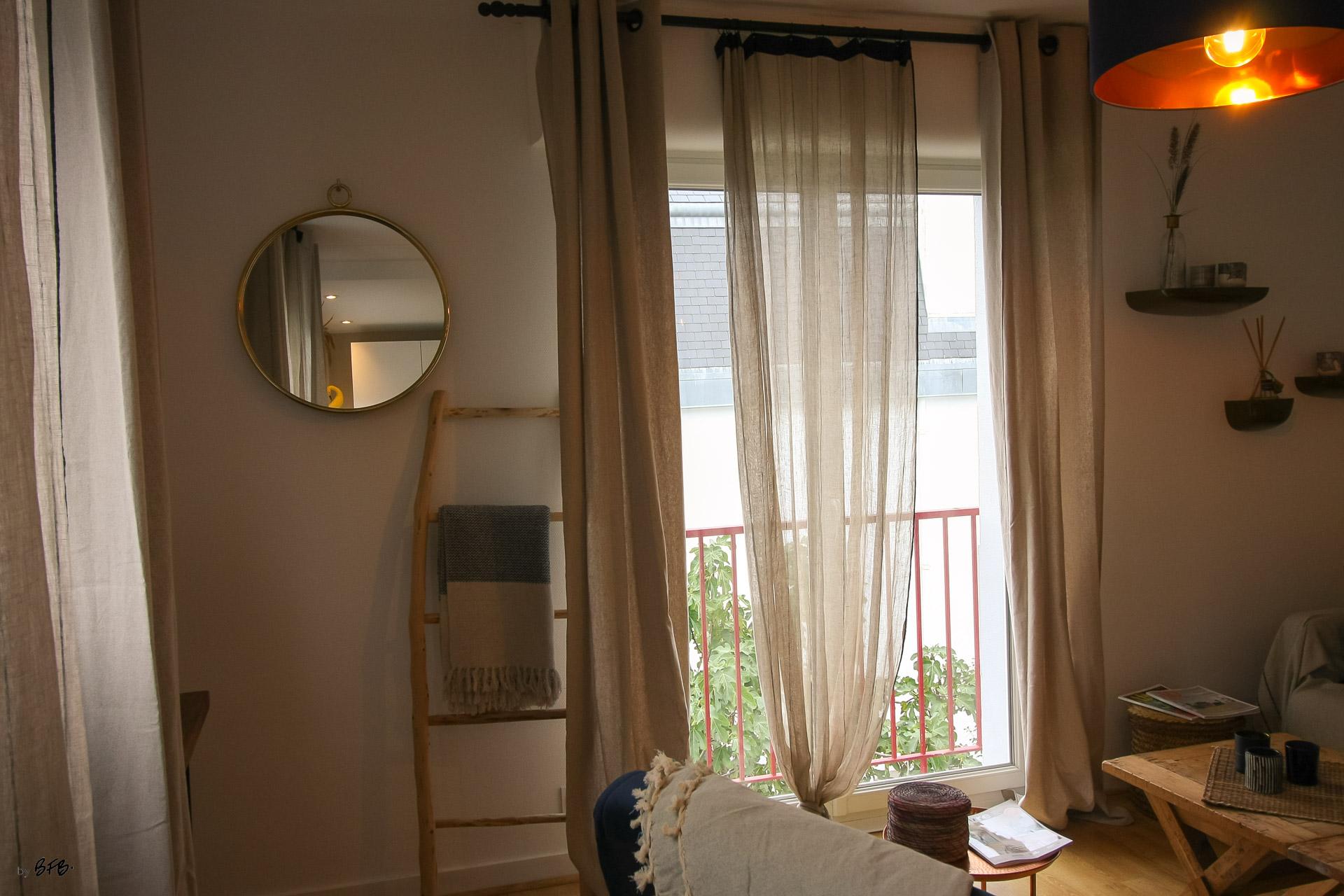 Rénovation appartement Ploemeur by Agence BFB Morbihan et Ile de Ré, le salon