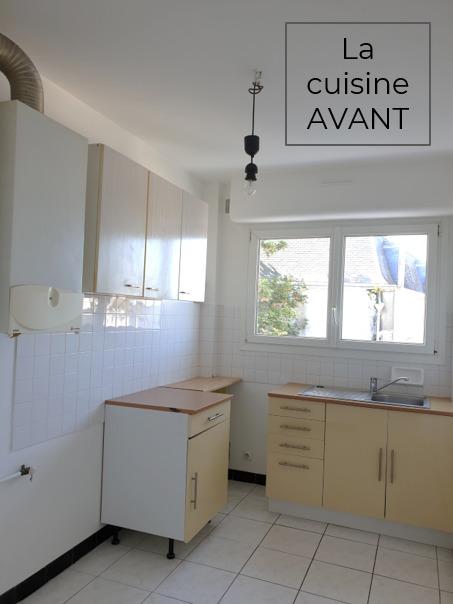 Rénovation appartement Ploemeur by Agence BFB Lorient et Ile de Ré, la cuisine avant
