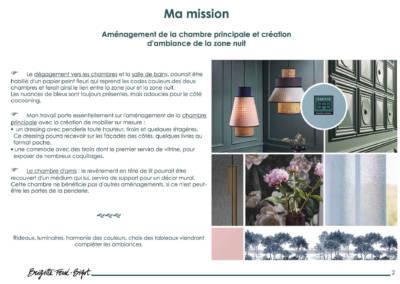 Le Book 3D, une prestation de Décoration par Brigitte Ferré-Bigot, Décoratrice d'intérieur à Lorient : la mission