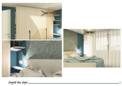 Le Book 3D, une prestation de Décoration par Brigitte Ferré-Bigot, Décoratrice d'intérieur à Lorient : le dressing et luminaires